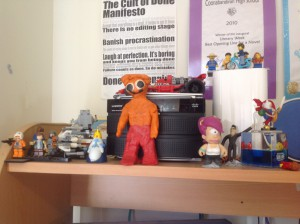 Just a few of my assorted toys… what can you spot?