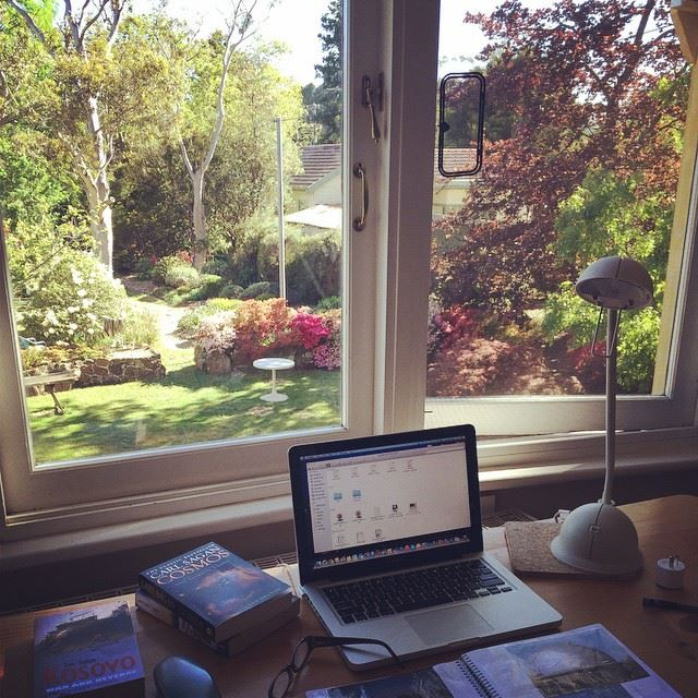 Writing heaven!