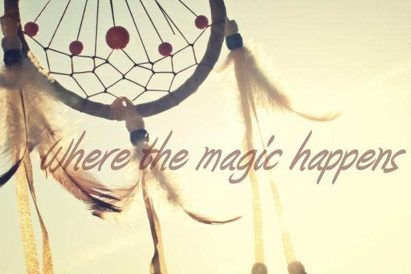Where the magic happens for Paula Weston
